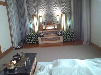 母の葬儀1