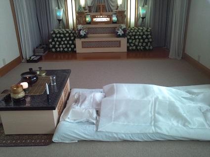 母の葬儀2